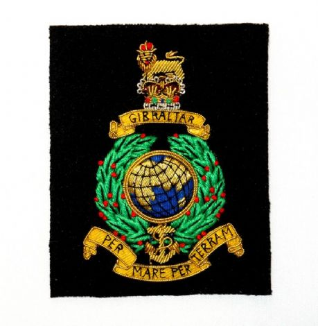 The Royal Regiment of Artillery - Wire Embroiderd Jacket Blazer Badge